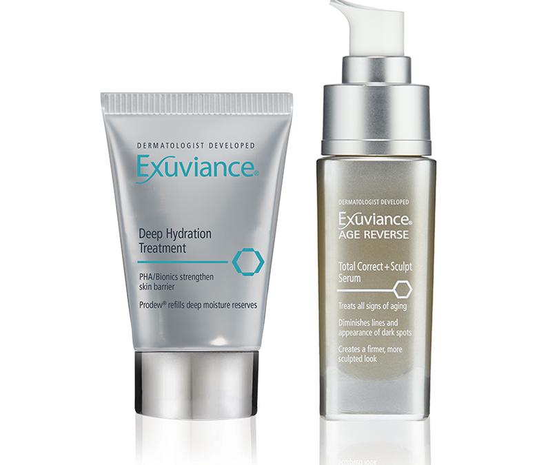 Exuviance Deep Hydration Treatment og Total Correct+ Sculpt Serum